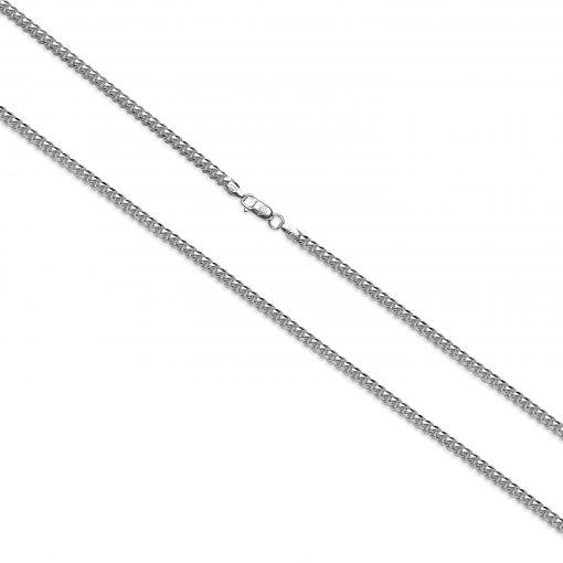 Cuban Link Chain 925 Silber Detailansicht